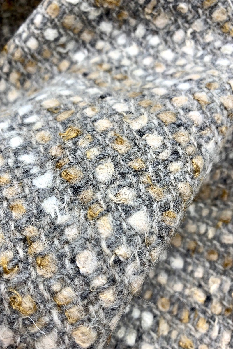 Твидовая костюмная ткань