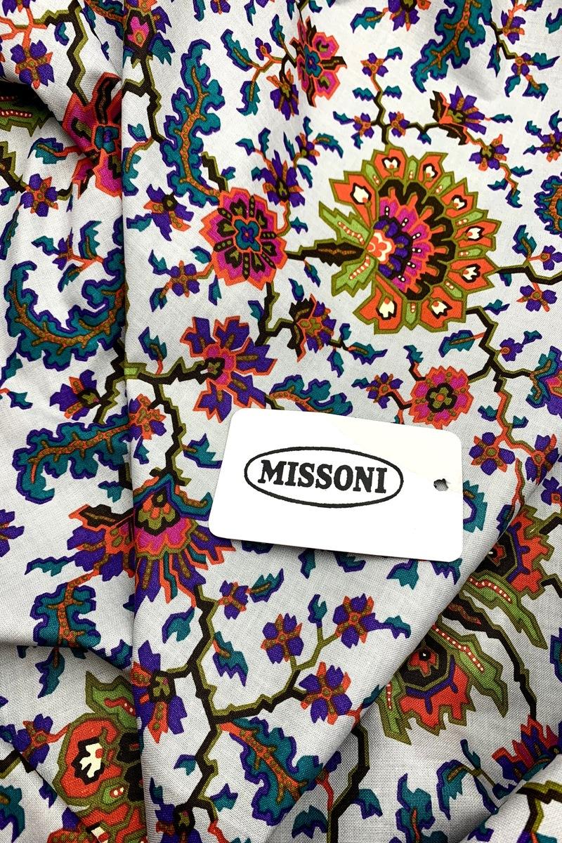 Костюмный хлопок Missoni