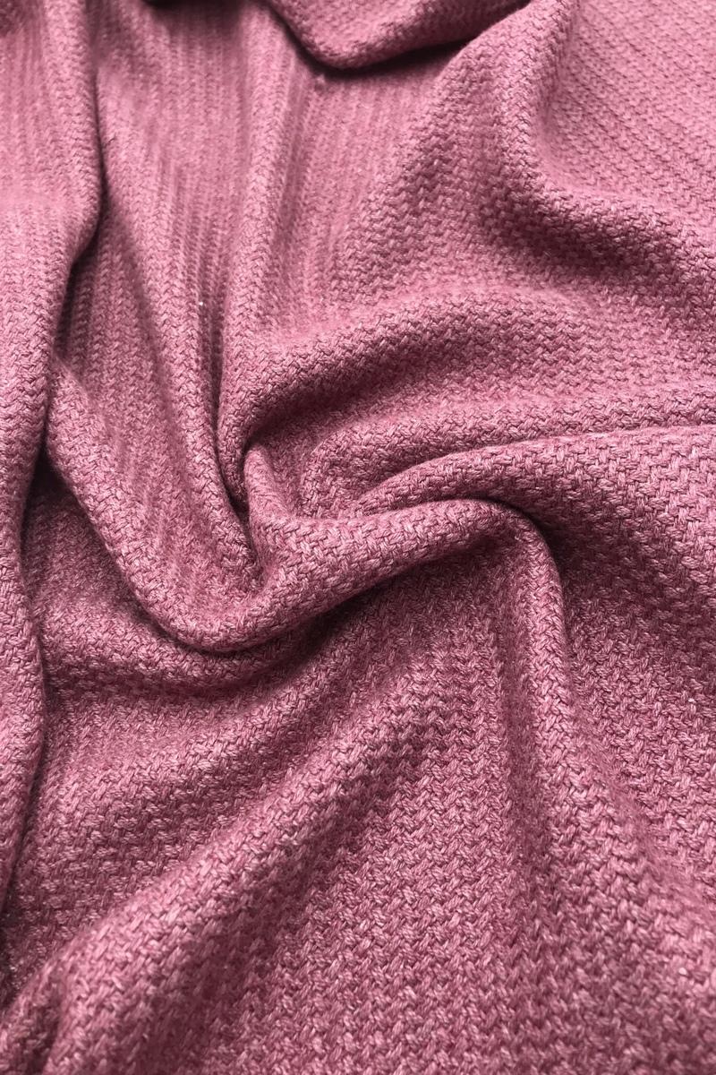 Костюмная ткань в ягодном цвете
