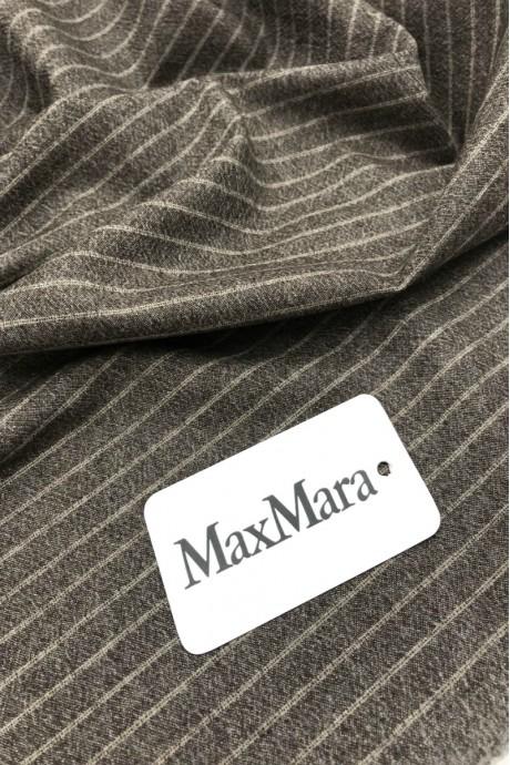 Костюмная ткань в полоску Max Mara