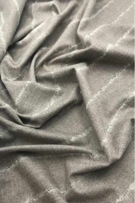 Костюмная ткань в полоску