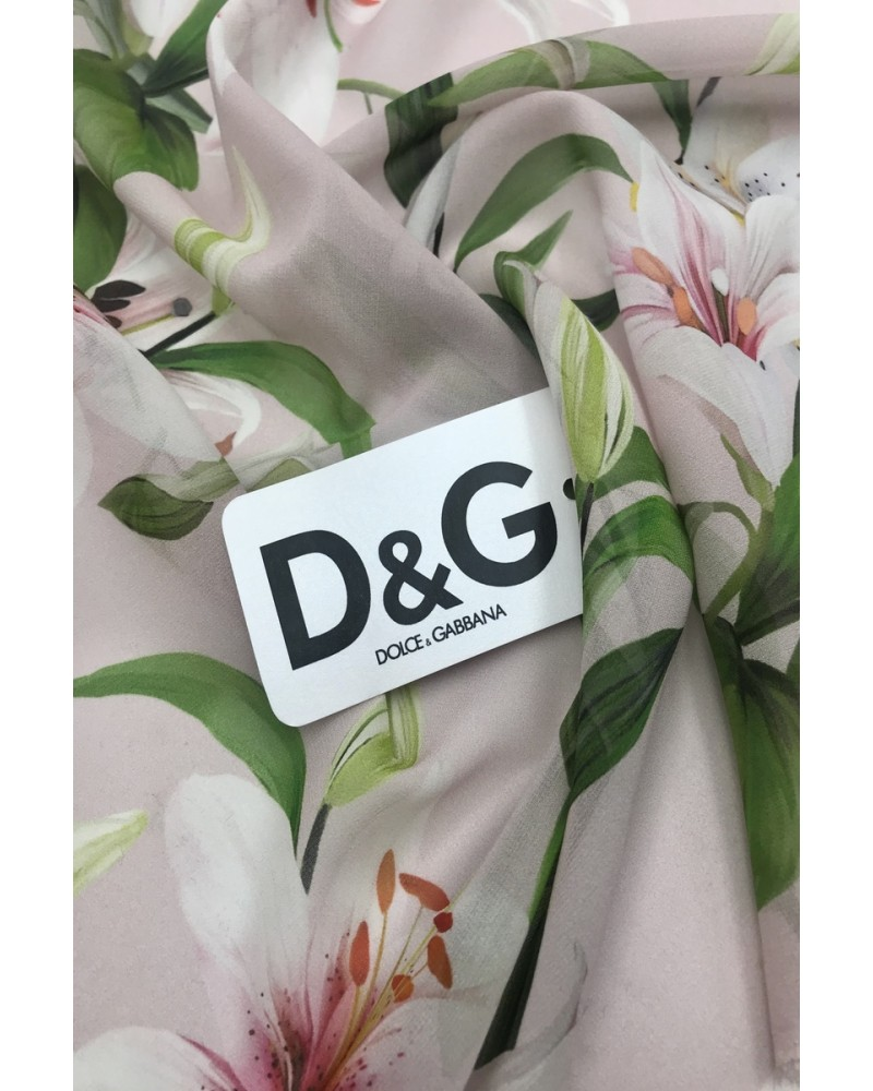 Шелк- шифон D&G