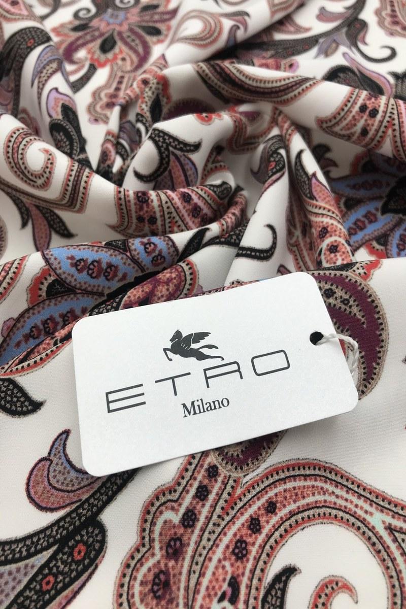 Вискоза кади с принтом от Etro